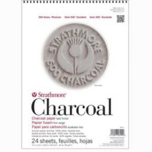 דפים לפחם – Strathmore Charcoal 500