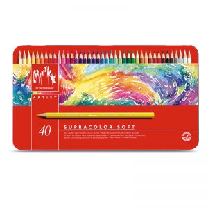 סט עפרונות אקוורל ארטיסט 40 קרנדש – Carandache Supracolor