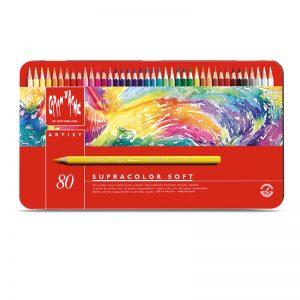 סט עפרונות אקוורל ארטיסט 80 קרנדש – Carandache Supracolor