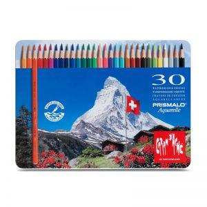 סט עפרונות אקוורל 30 קרנדש -Carandache Prismalo