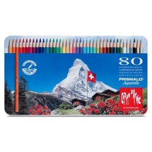 סט עפרונות אקוורל 80 קרנדש -Carandache Prismalo