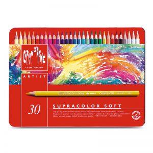 סט עפרונות אקוורל ארטיסט 30 קרנדש – Carandache Supracolor