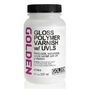 פולימר ורניש מבריק – Golden Polymer Varnish  Gloss
