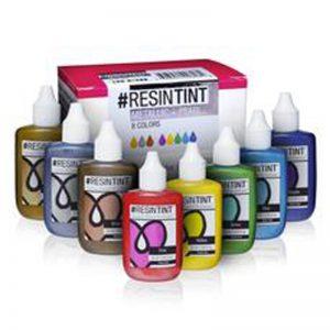 סט מגוונים מתכתי  ArtResin ResinTint