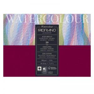 בלוק נייר מים 200 – Fabriano Watercolours cold pressed