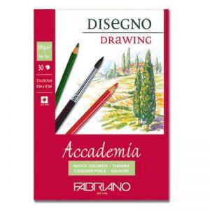 בלוק נייר ספירל לרישום  – Fabriano Accademia