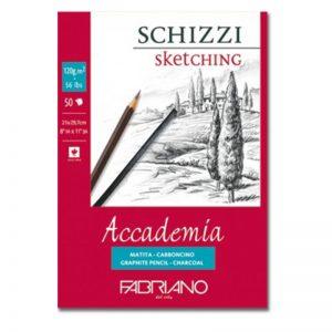 בלוק נייר ספירל לרישום 120 – Fabriano Accademia