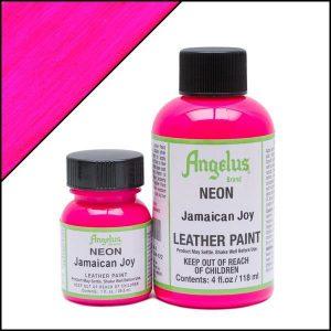 צבע לנעלים פלורסנטי  Angelus Neon Paint 119ML
