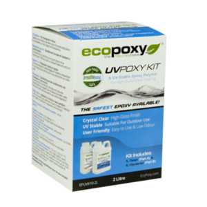 אקופוקסי – Ecopoxy UVpoxy Kit 1LT