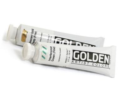 גולדן אקריליק מתכתי - GOLDEN Iridescent Acrylic 59ML