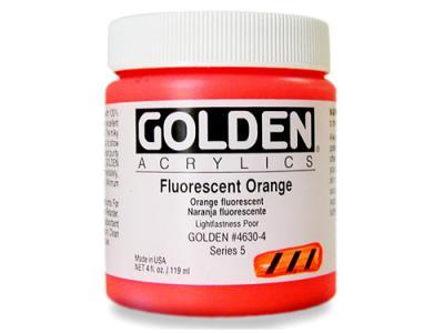 גולדן אקריליק פלורסנט - Golden Fluorescent Acrylic