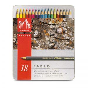 סט עפרונות צבע ארטיסט פאבלו קרנדש – Carandache Pablo