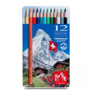 סט עפרונות אקוורל 12 קרנדש – Carandache Prismalo