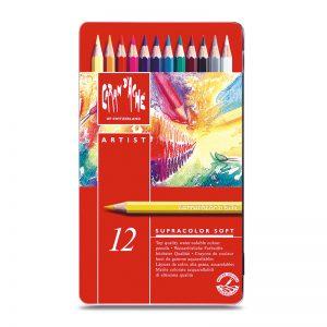 סט עפרונות אקוורל ארטיסט 12 קרנדש – Carandache Supracolor