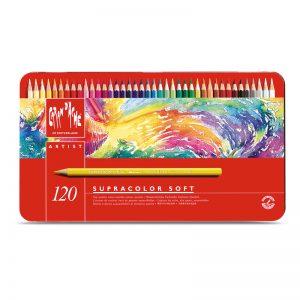 סט עפרונות אקוורל ארטיסט 120 קרנדש – Carandache Supracolor