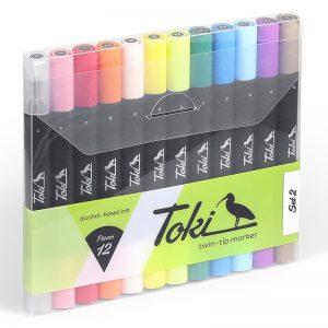 סט מרקרים מס 2 – Toki
