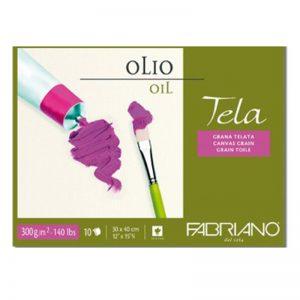 בלוק נייר לצבע שמן – Fabriano Tela Oil