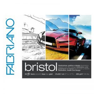 בלוק נייר בריסטול – Fabriano Bristol