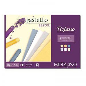 בלוק נייר צבעוני לרישום ופסטל – Fabriano Tiziano Soft Pad