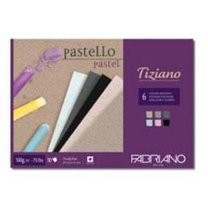 בלוק נייר צבעוני לרישום ופסטל – Fabriano Tiziano Brzzati Pad