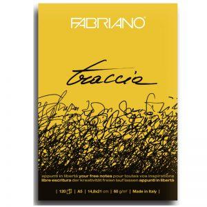 בלוק נייר לקליגרפיה ורישום – Fabriano Traccic