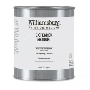מדיום לטקסטורות שמן – williamsburg extender medium