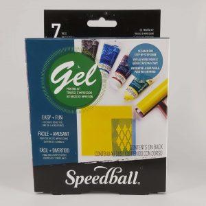 סט הדפס – Speedball Gel Kit