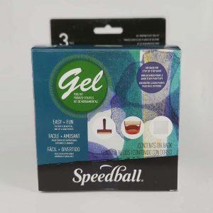 סט הדפס מיני – Speedball Gel