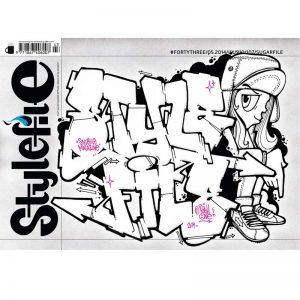 מגזין גרפיטי – Stylefile 43 magazine