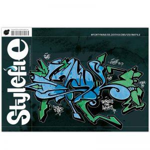 מגזין גרפיטי – Stylefile 49 magazine