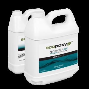 אפוקסי ליציקות שקופות – Ecopoxy FlowCast  Kit 12Lt