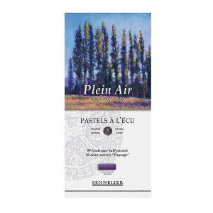 סט פסטל יבש ארטיסט לנוף 80 גוונים(חצאים) – Sennelier Extra soft Pastels Plein Air