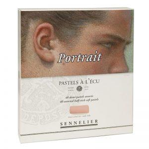 סט פסטל יבש ארטיסט 40 גוונים(חצאים) – Sennelier Extra soft Pastels Portrait