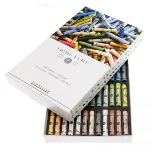 סט פסטל יבש ארטיסט 48 גוונים – Sennelier Extra soft Pastels