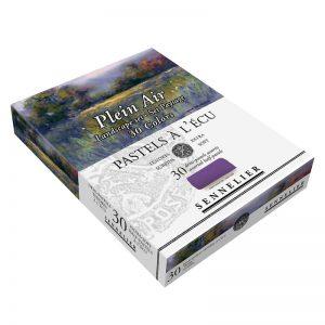 סט פסטל יבש ארטיסט 30 גוונים(חצאים) – Sennelier Extra soft Pastels Landscape