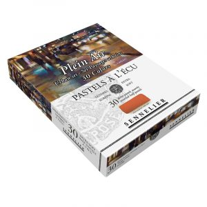סט פסטל יבש ארטיסט 30 גוונים(חצאים) – Sennelier Extra soft Pastels Urban
