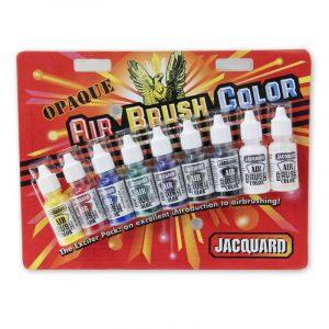 סט צבעי איירברש אטומים – Airbrush Set
